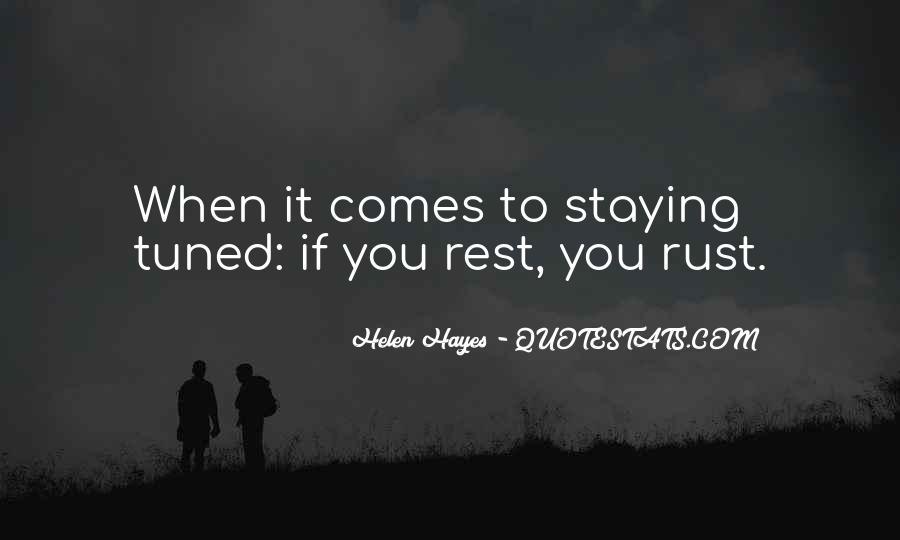 Rust's Quotes #184262
