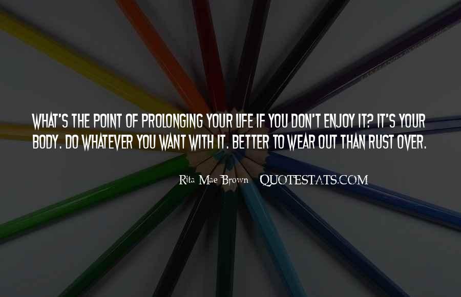 Rust's Quotes #347684