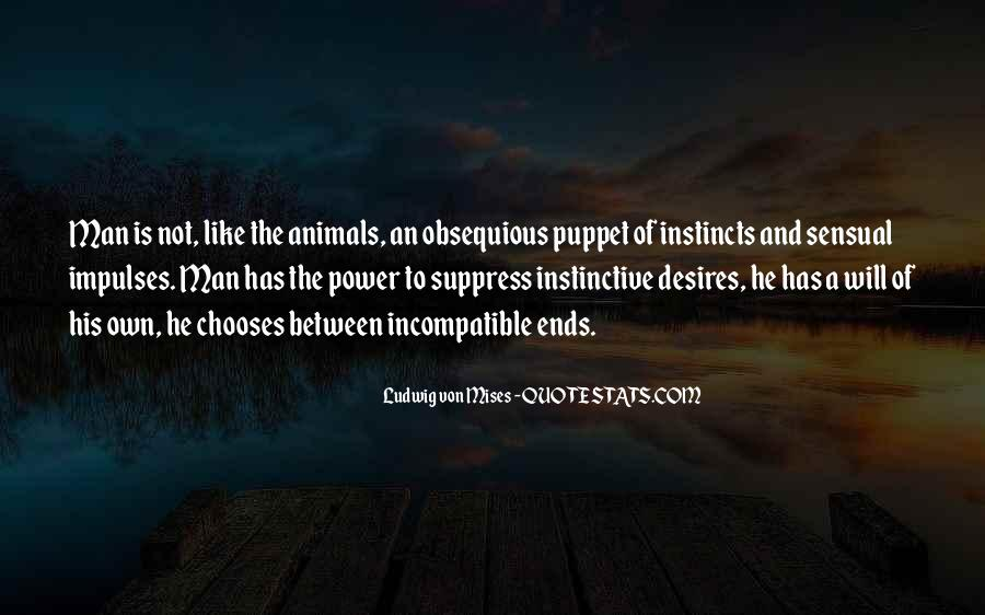Quotes About Man And Animals #173525