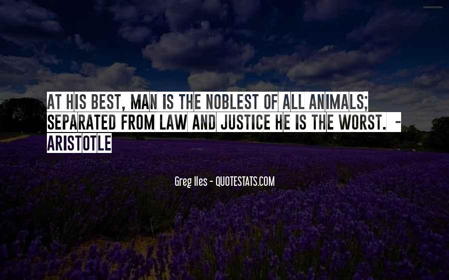 Quotes About Man And Animals #583589