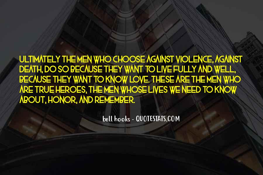 Quotes About Against Love #36455