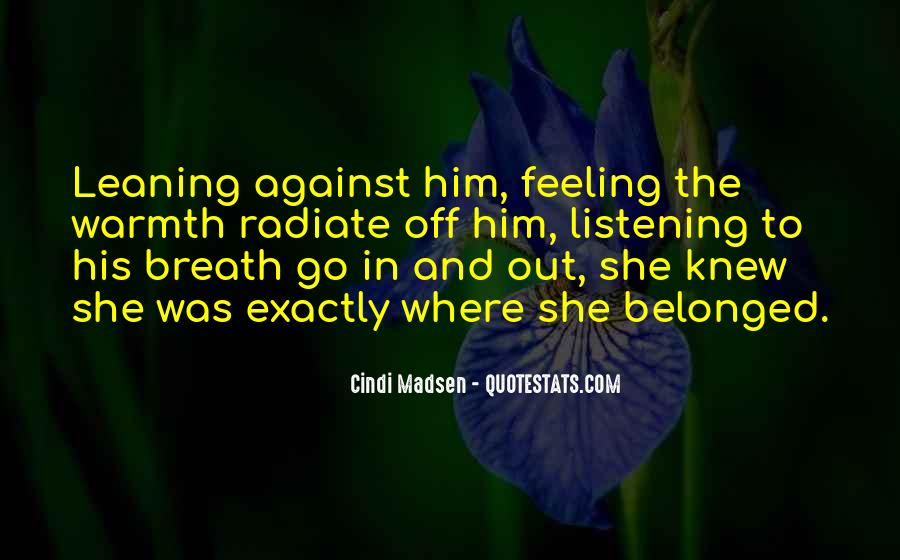 Quotes About Against Love #91873
