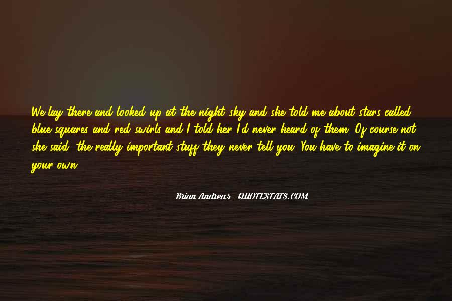 Quotes About The Night Sky #119569