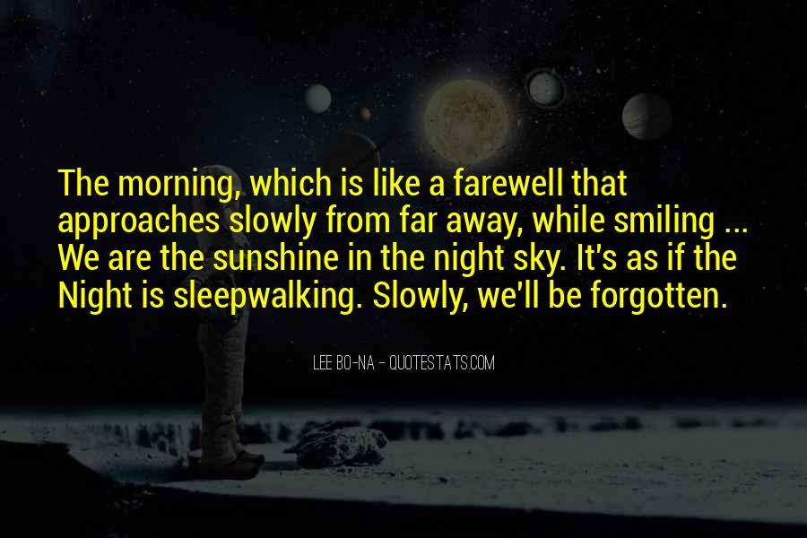 Quotes About The Night Sky #130877
