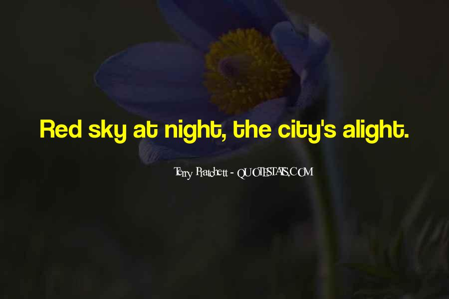 Quotes About The Night Sky #157741