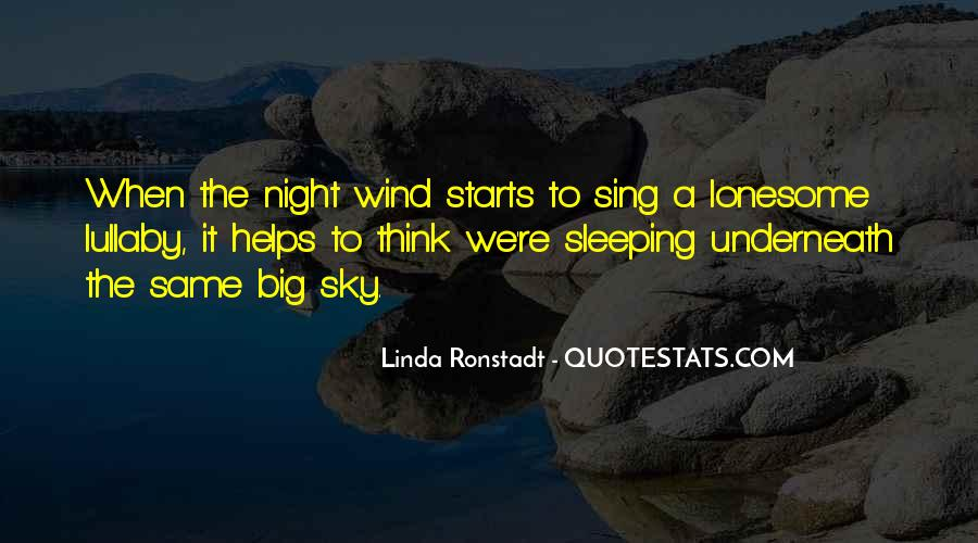 Quotes About The Night Sky #190411