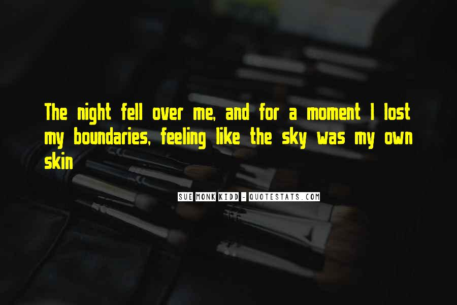 Quotes About The Night Sky #206321