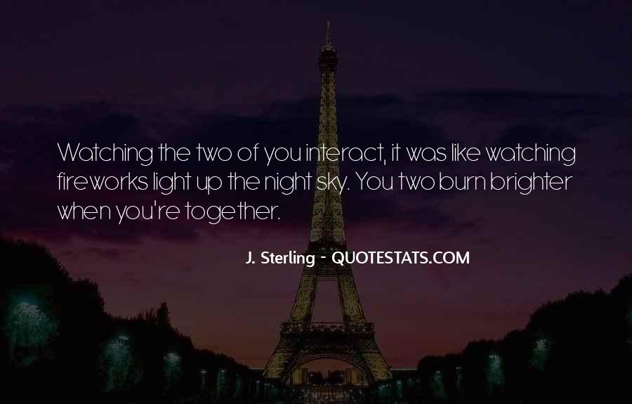 Quotes About The Night Sky #20924