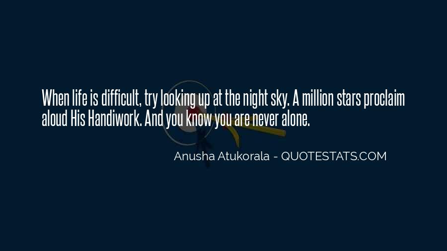 Quotes About The Night Sky #2146