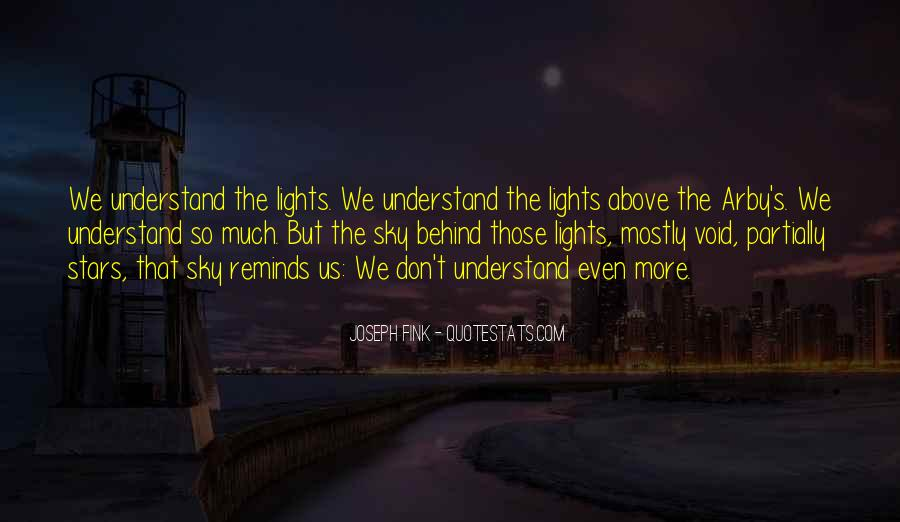 Quotes About The Night Sky #239439