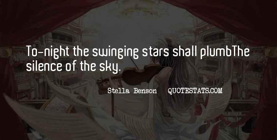 Quotes About The Night Sky #246774