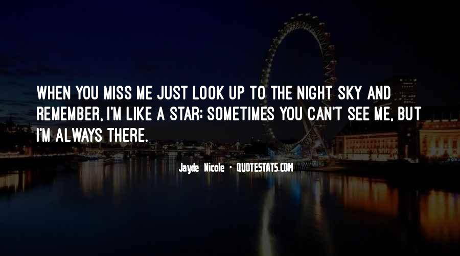 Quotes About The Night Sky #251584