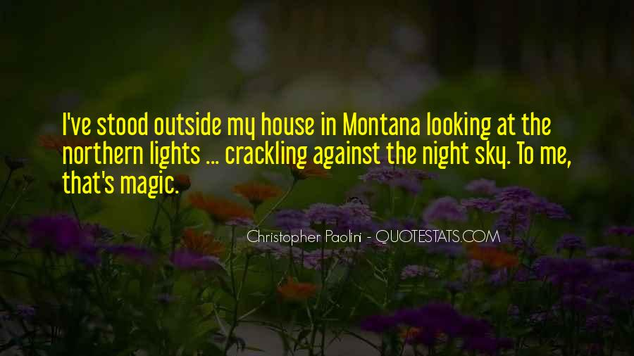 Quotes About The Night Sky #267573