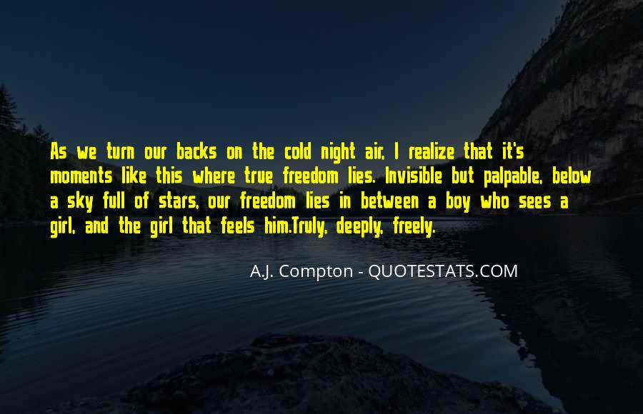 Quotes About The Night Sky #274909