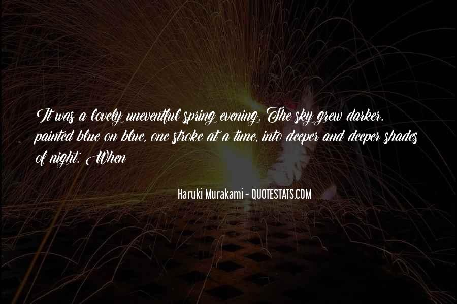 Quotes About The Night Sky #293812