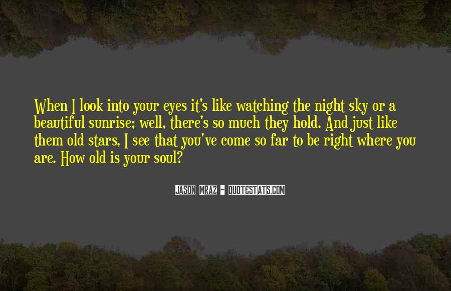 Quotes About The Night Sky #30983