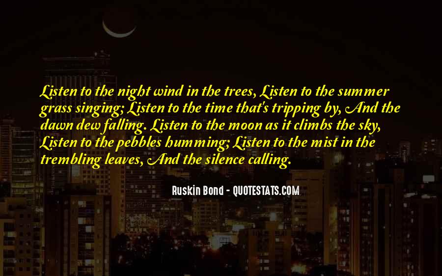 Quotes About The Night Sky #330725