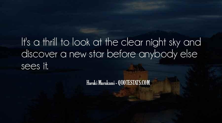 Quotes About The Night Sky #50304