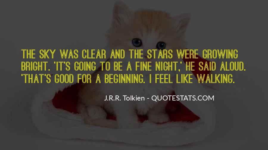 Quotes About The Night Sky #56717