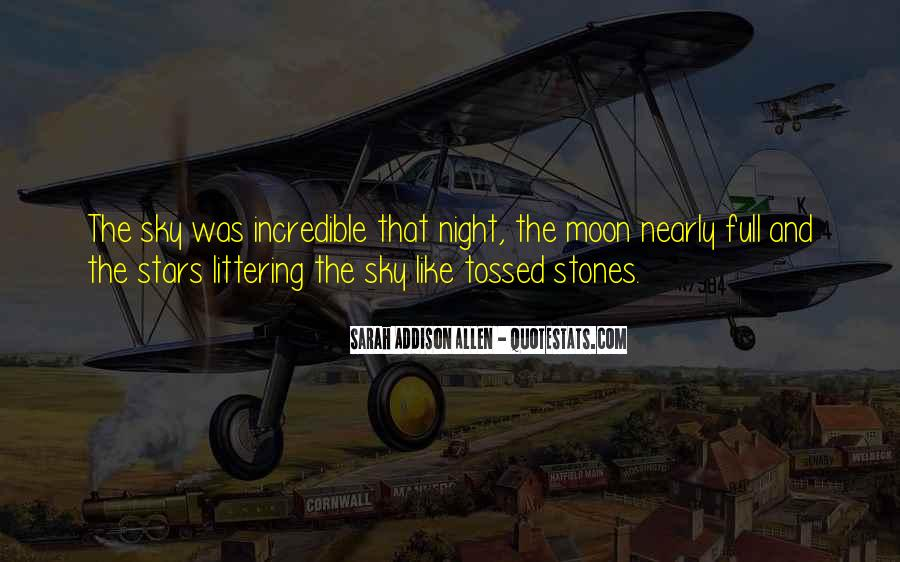Quotes About The Night Sky #58735