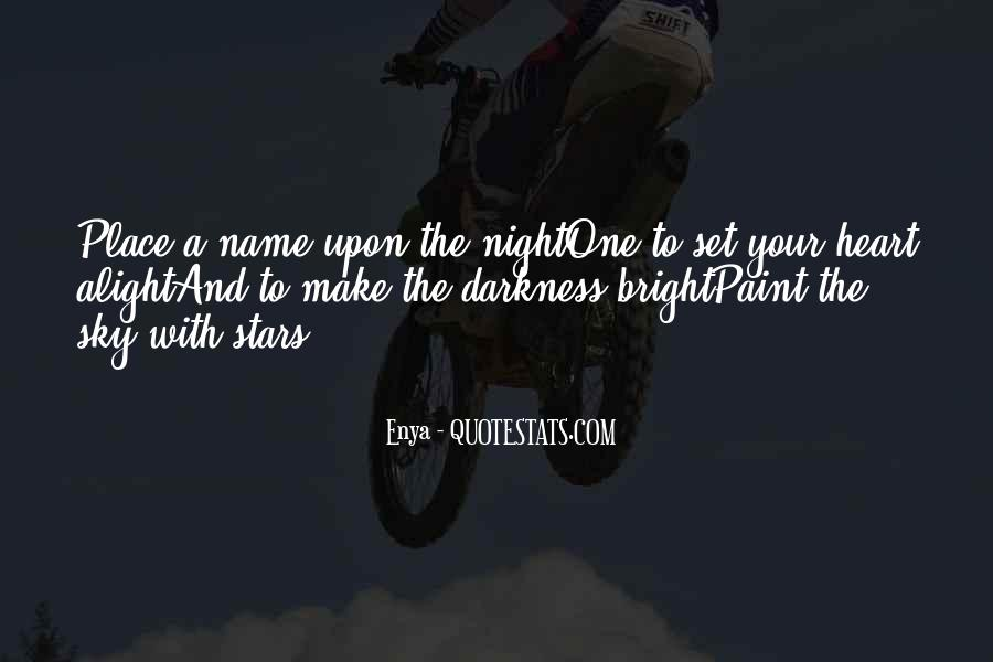 Quotes About The Night Sky #59288