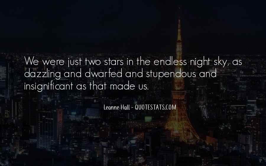 Quotes About The Night Sky #62370