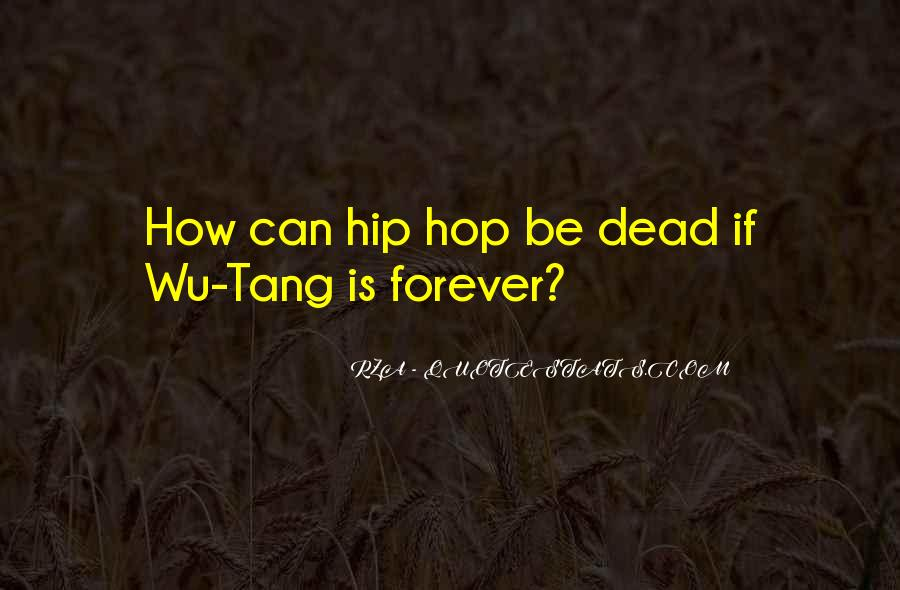 Top 68 Rza\'s Quotes: Famous Quotes & Sayings About Rza\'s
