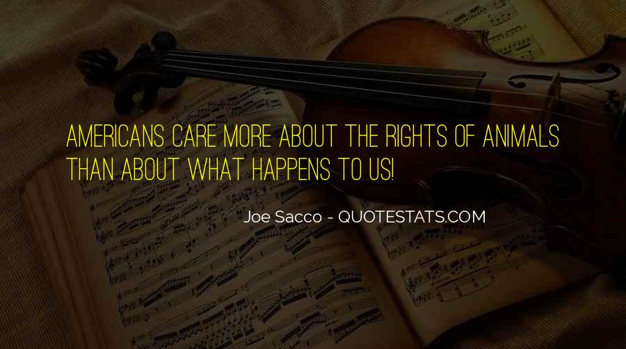 Sacco's Quotes #1009436