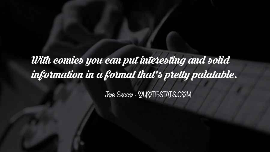 Sacco's Quotes #1586963