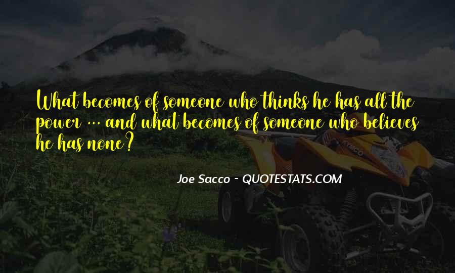 Sacco's Quotes #213048