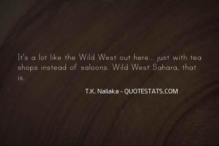 Saloons Quotes #888120
