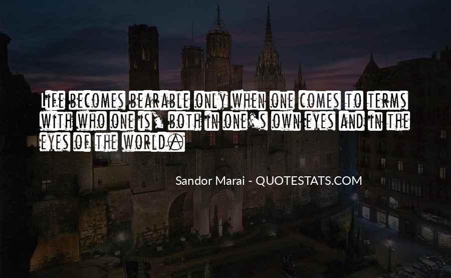 Sandor's Quotes #1354212
