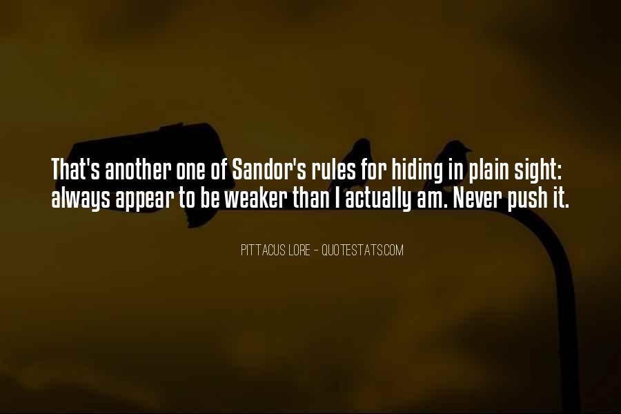 Sandor's Quotes #92598