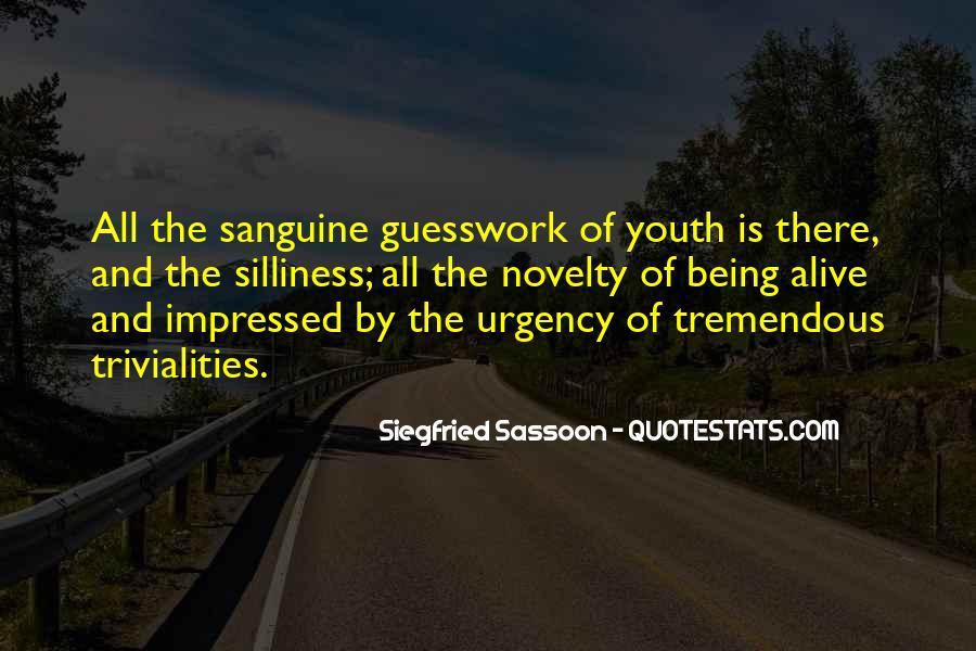 Sanguine's Quotes #1012709