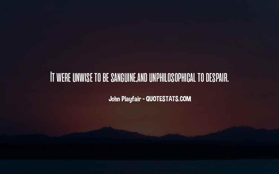 Sanguine's Quotes #254804