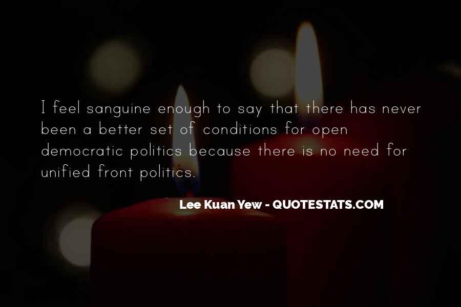 Sanguine's Quotes #436480