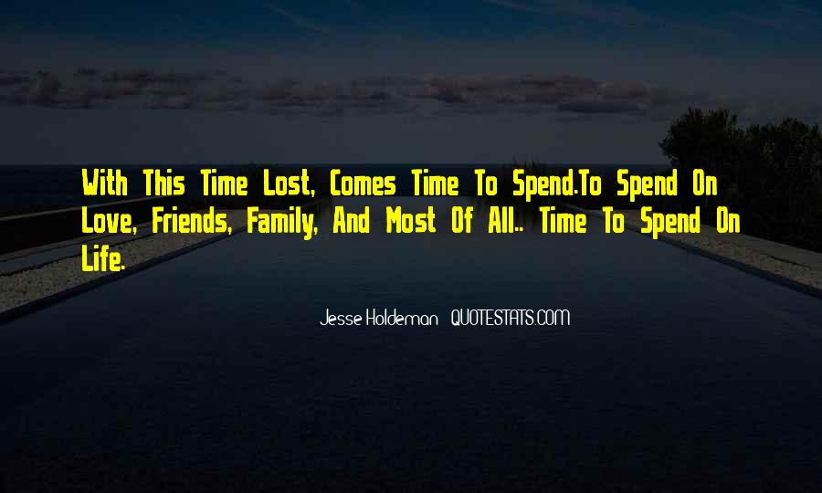 Quotes About Time With Family #122770