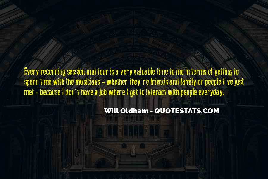 Quotes About Time With Family #173452