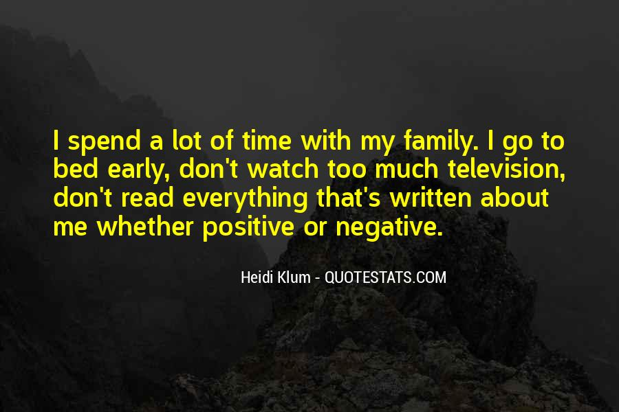 Quotes About Time With Family #243218