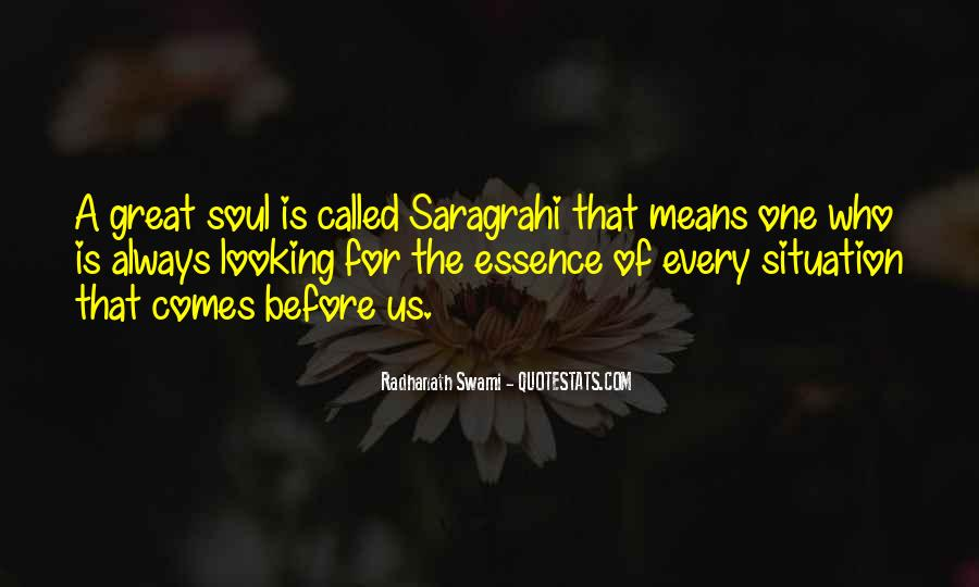 Saragrahi Quotes #529430