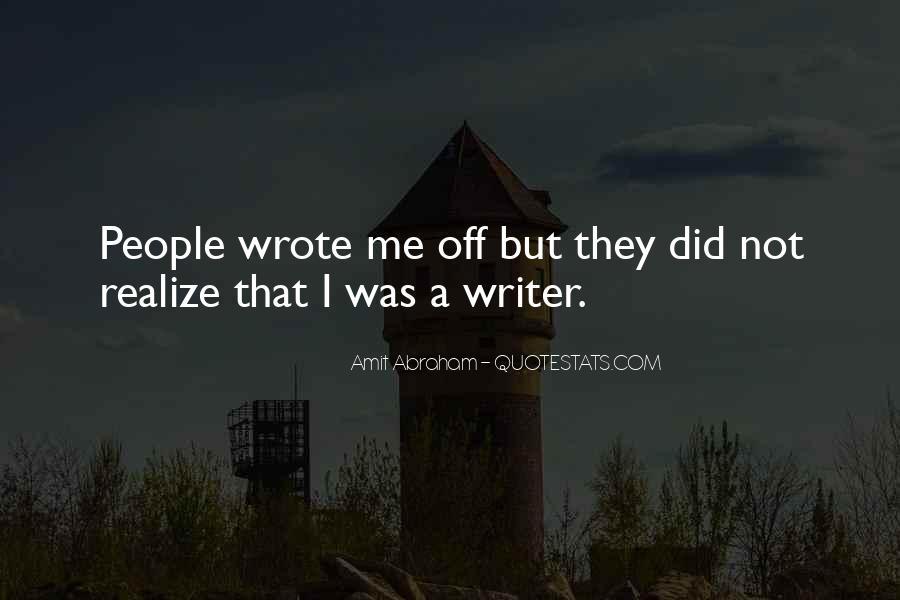 Sarnie Quotes #1023272