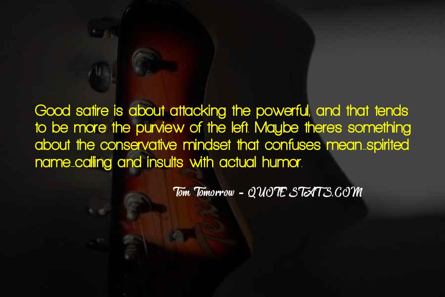 Satire's Quotes #1398038