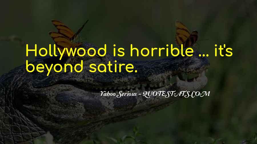 Satire's Quotes #345992