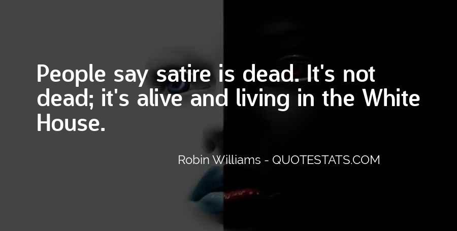 Satire's Quotes #420499