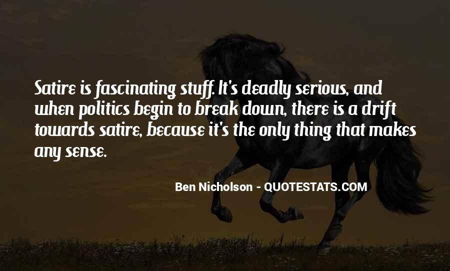 Satire's Quotes #912713