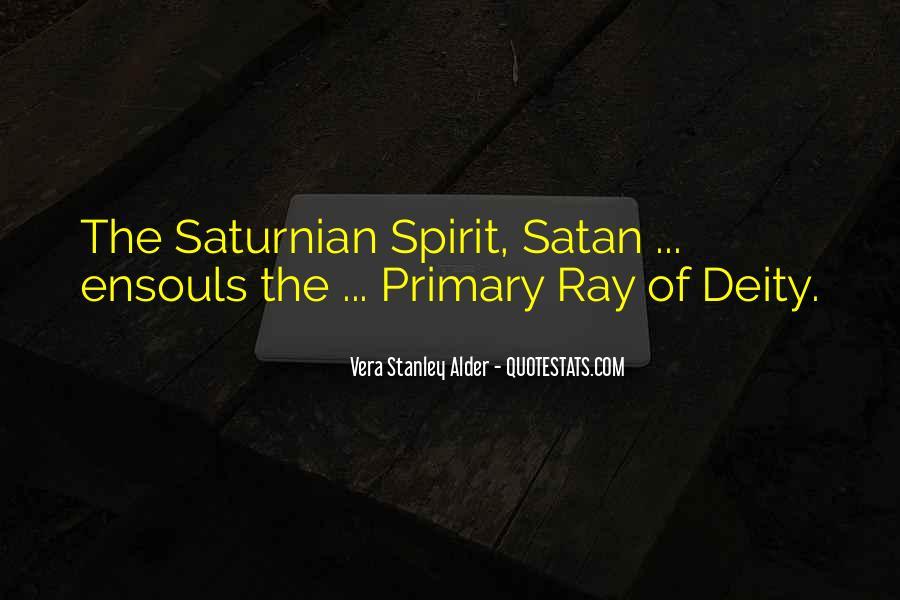 Saturnian Quotes #1855751