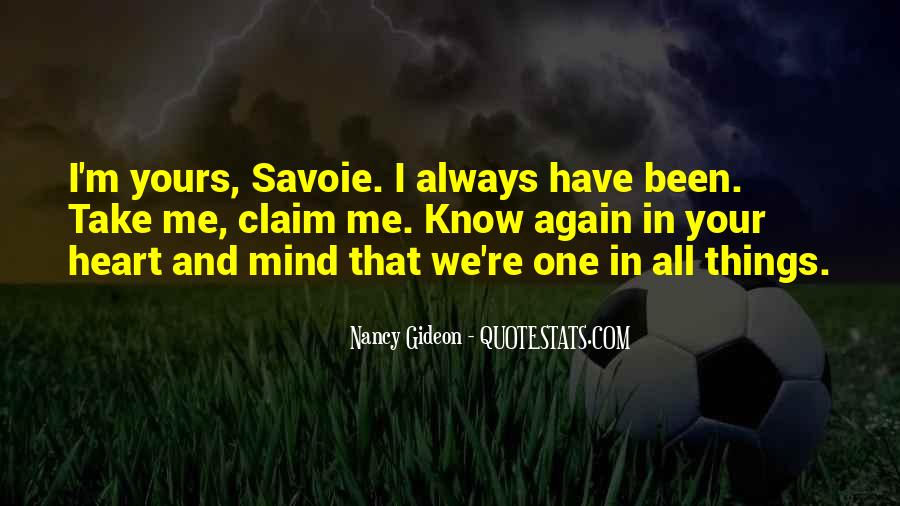 Savoie Quotes #1193574