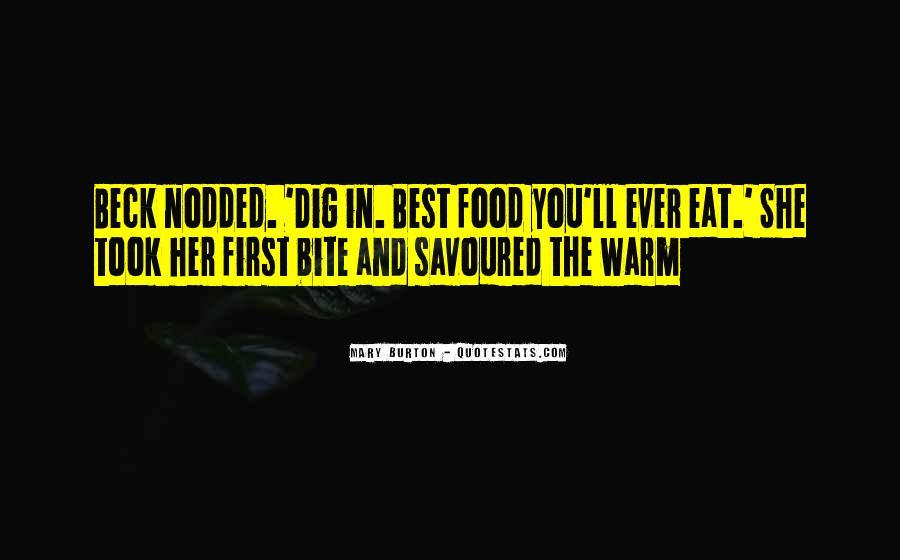 Savoured Quotes #1613297