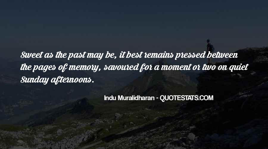 Savoured Quotes #391408