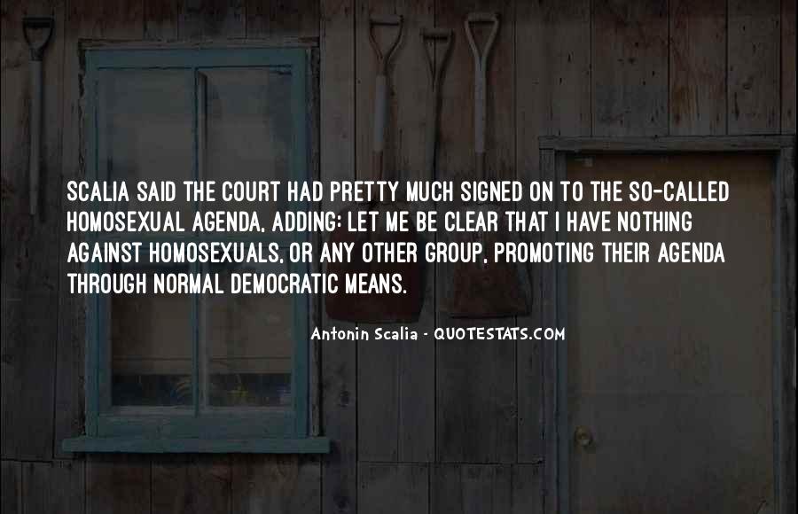 Scalia's Quotes #1642321